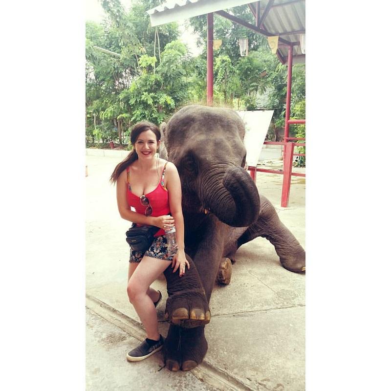 elephant sanctury in hua hin