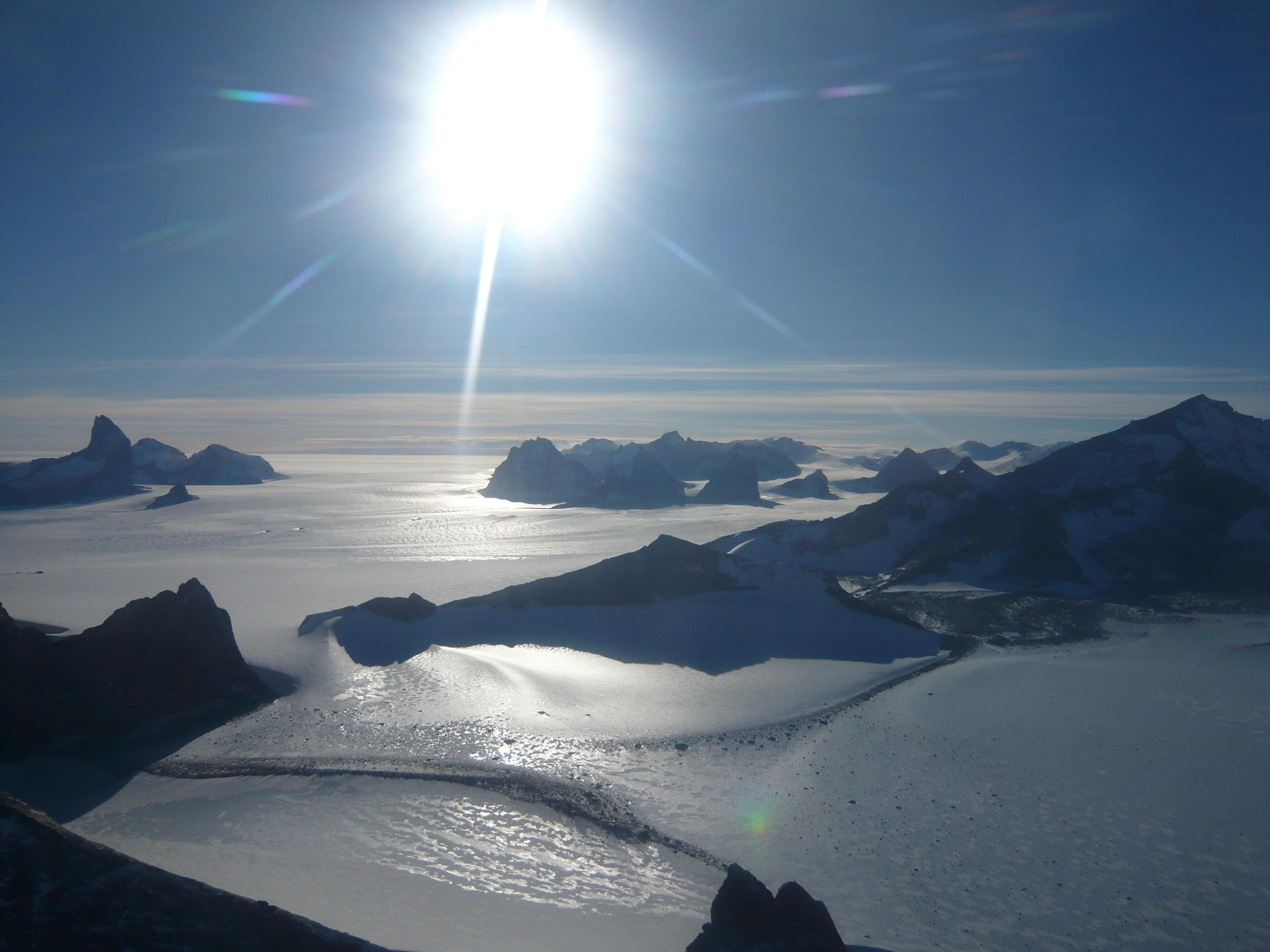South Pole Peace Messages