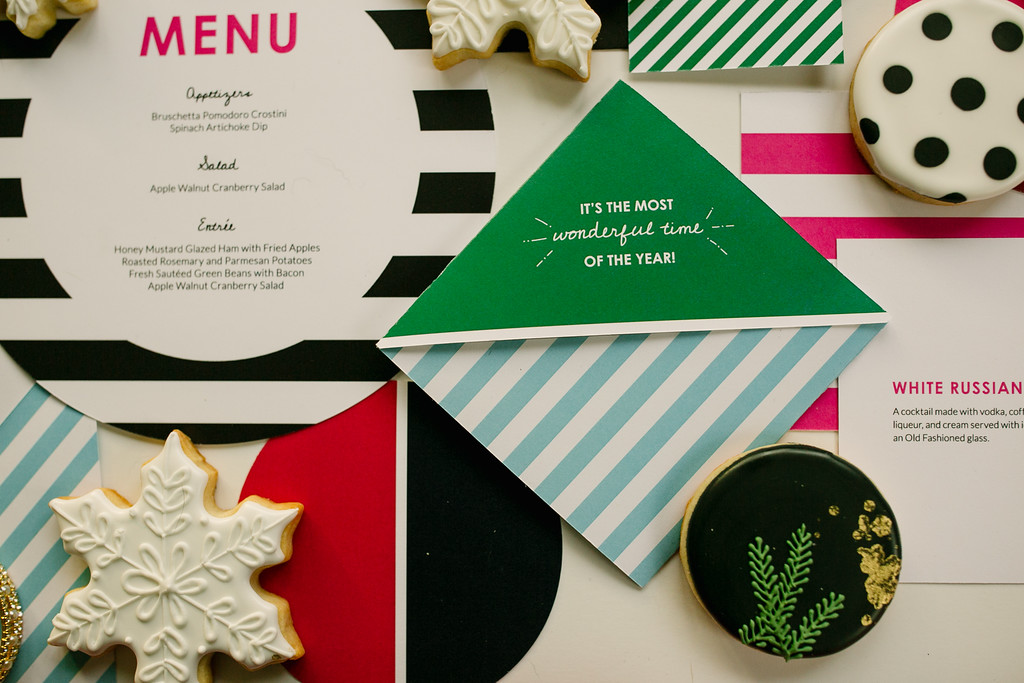 Custom Holiday Invitation Square Paper Paragon