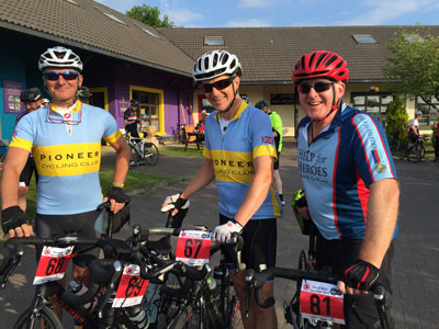 Nick completed the 140 km Isle of Mull Cyclosportive raising funds for Help for Heroes
