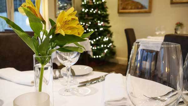 Dining out in the Christmas run-up at The Pierhouse Hotel