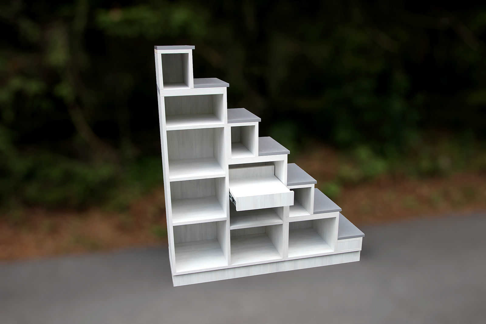 meuble escalier escalier indon sien sur meure. Black Bedroom Furniture Sets. Home Design Ideas