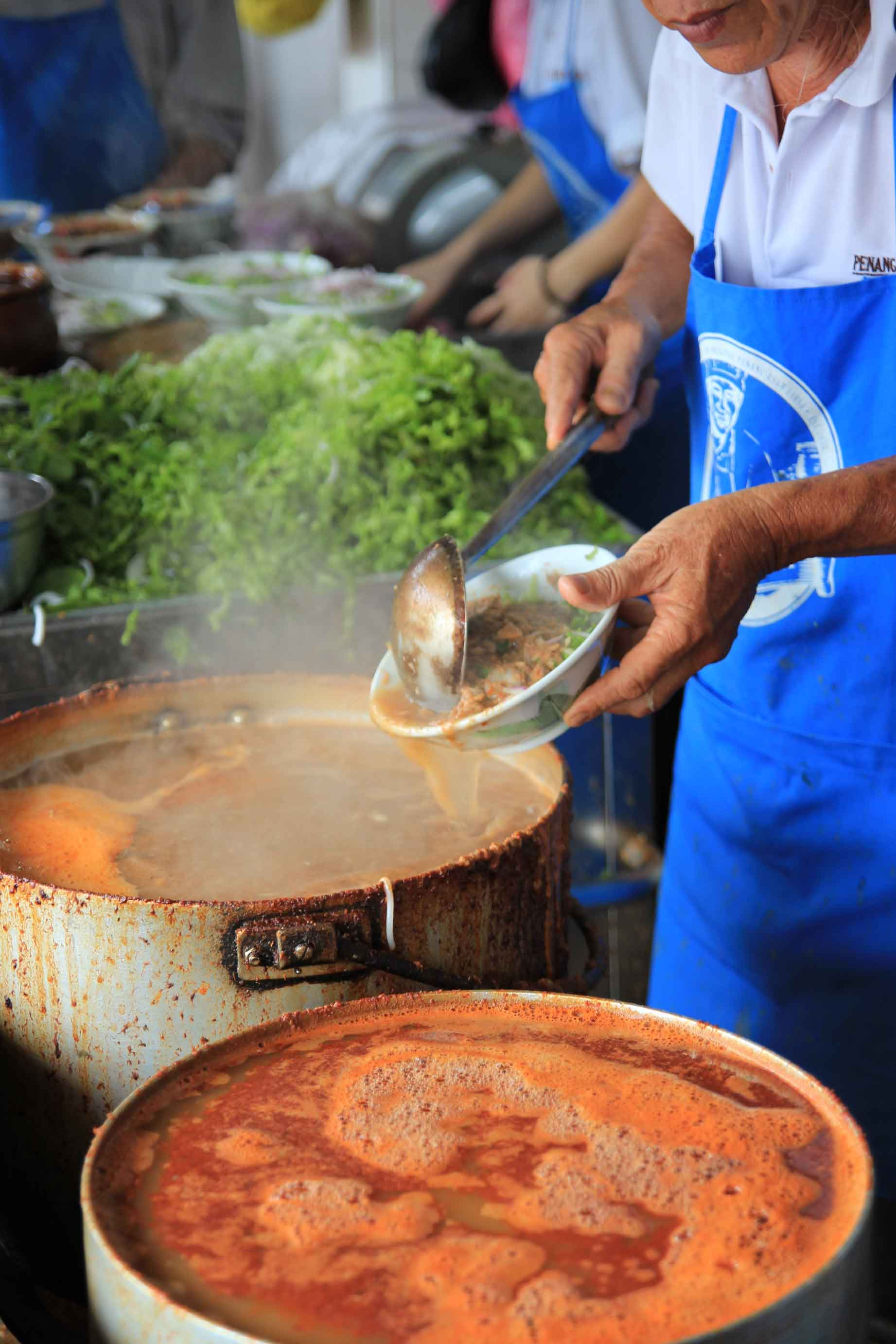 Penang's Famous Assam Laksa