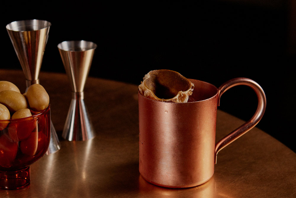 A drink at 7pm: Luca Arnaboldi's Moscow Mule