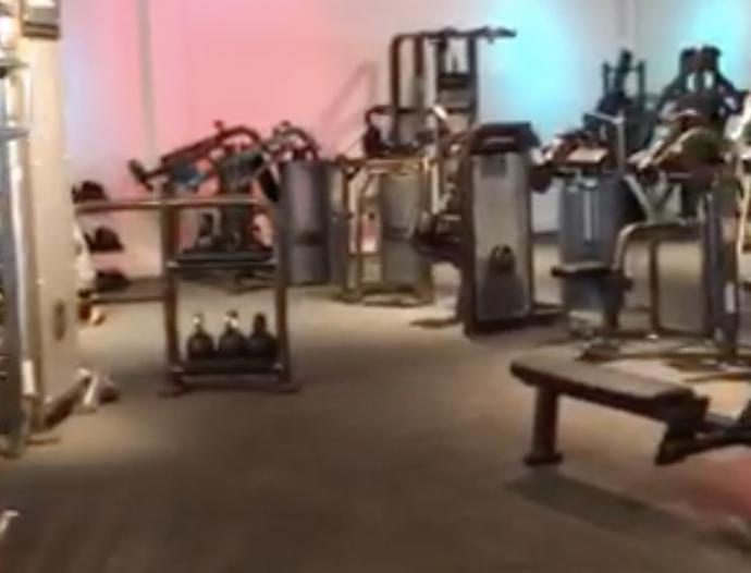 rubber sportvloer fitness vloertegels | sofsurfaces