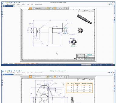 Усовершенствованное создание чертежей solid edge st9