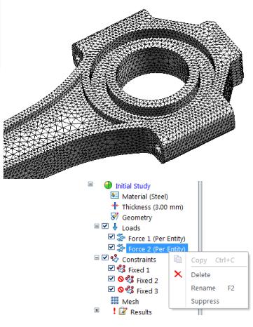 Усовершенствованный анализ solid edge st9