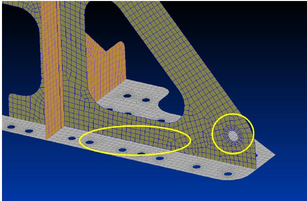 измельчение КЭ сетки femap 11.3