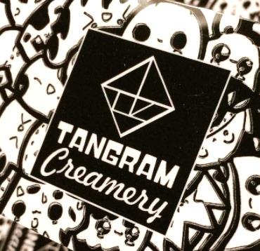 Tangram Creamery Logo