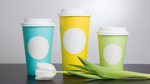 Starbucks spring cups 2017 with no logos on them.