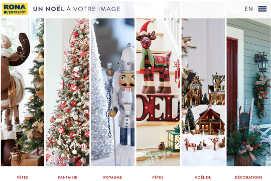 Decorations de noel rona