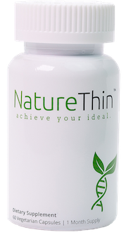 Bottle of NatureThin Weight Loss Supplement by ALternaScript