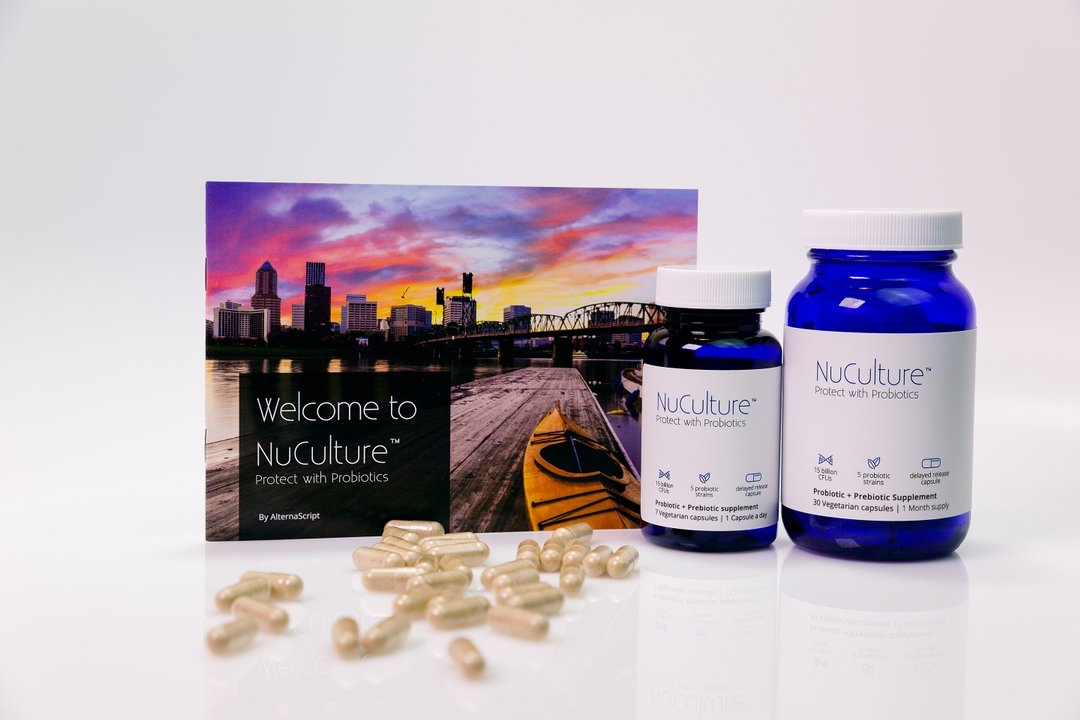 NuCulture for gut health, protect with probiotics