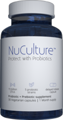 Bottle Of NuCulture Probiotics