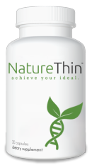 Bottle of Naturethin Weight Loss Supplement