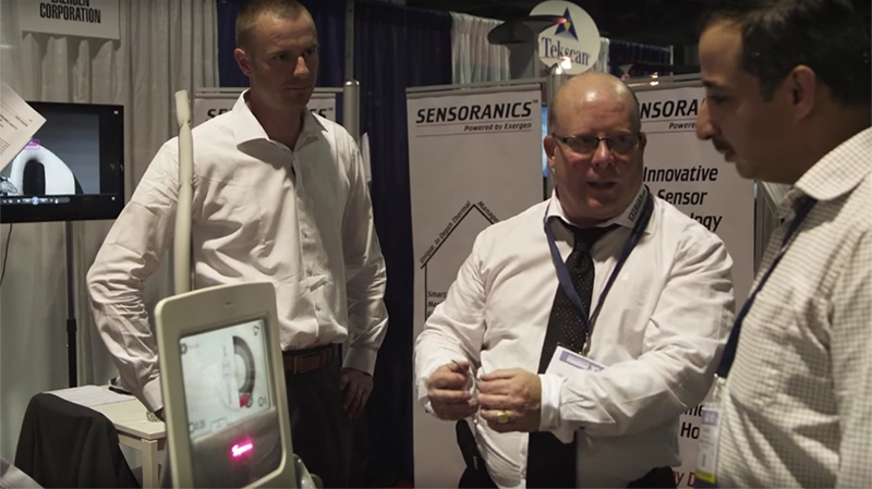 Bram and Bob explain the sensor in technology by Syneron