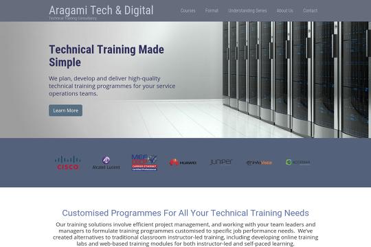 Aragami Tech & Digital UK - Webflow