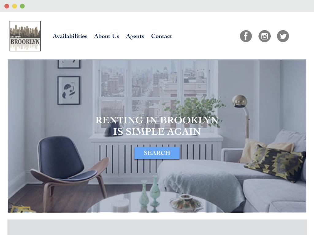 Brokerage website