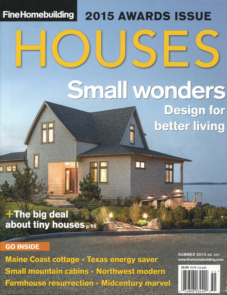 Fine Home Building Awards Issue magazine