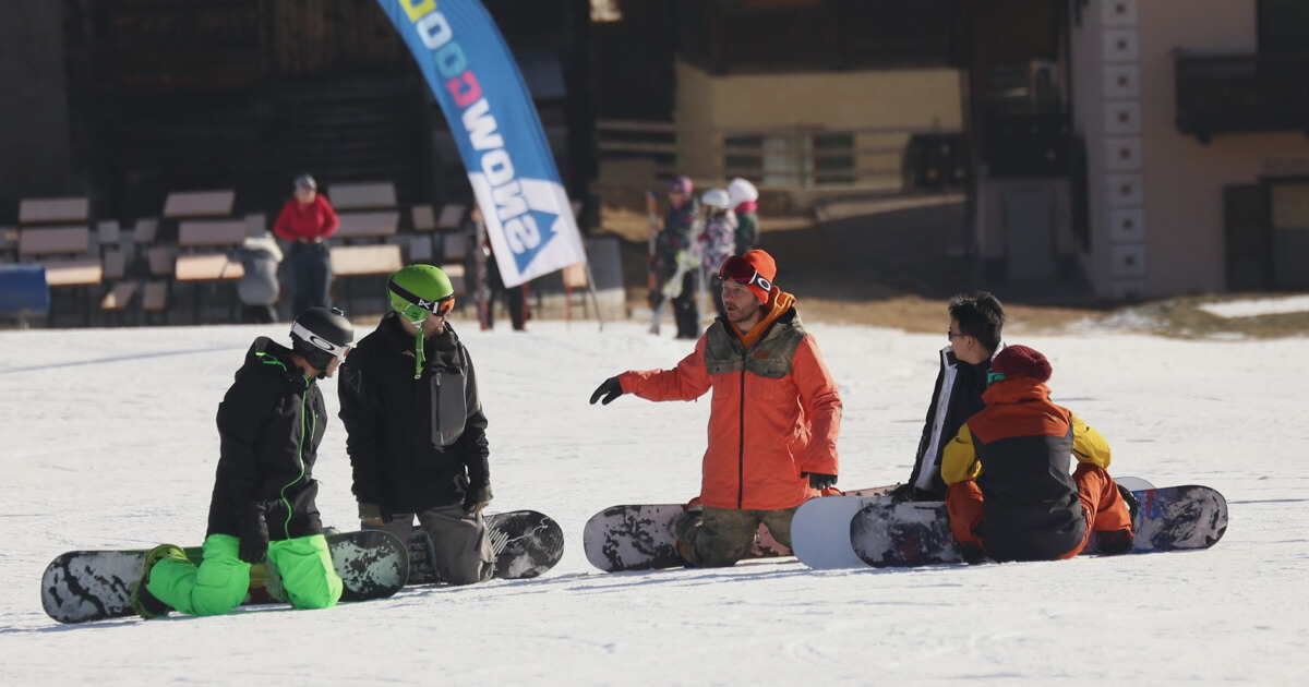 Beginner Snowboard Lessons