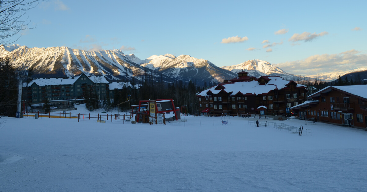 Ski Resort Early Morning