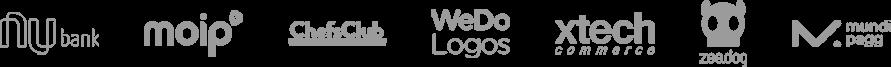 Alt text image dos logos