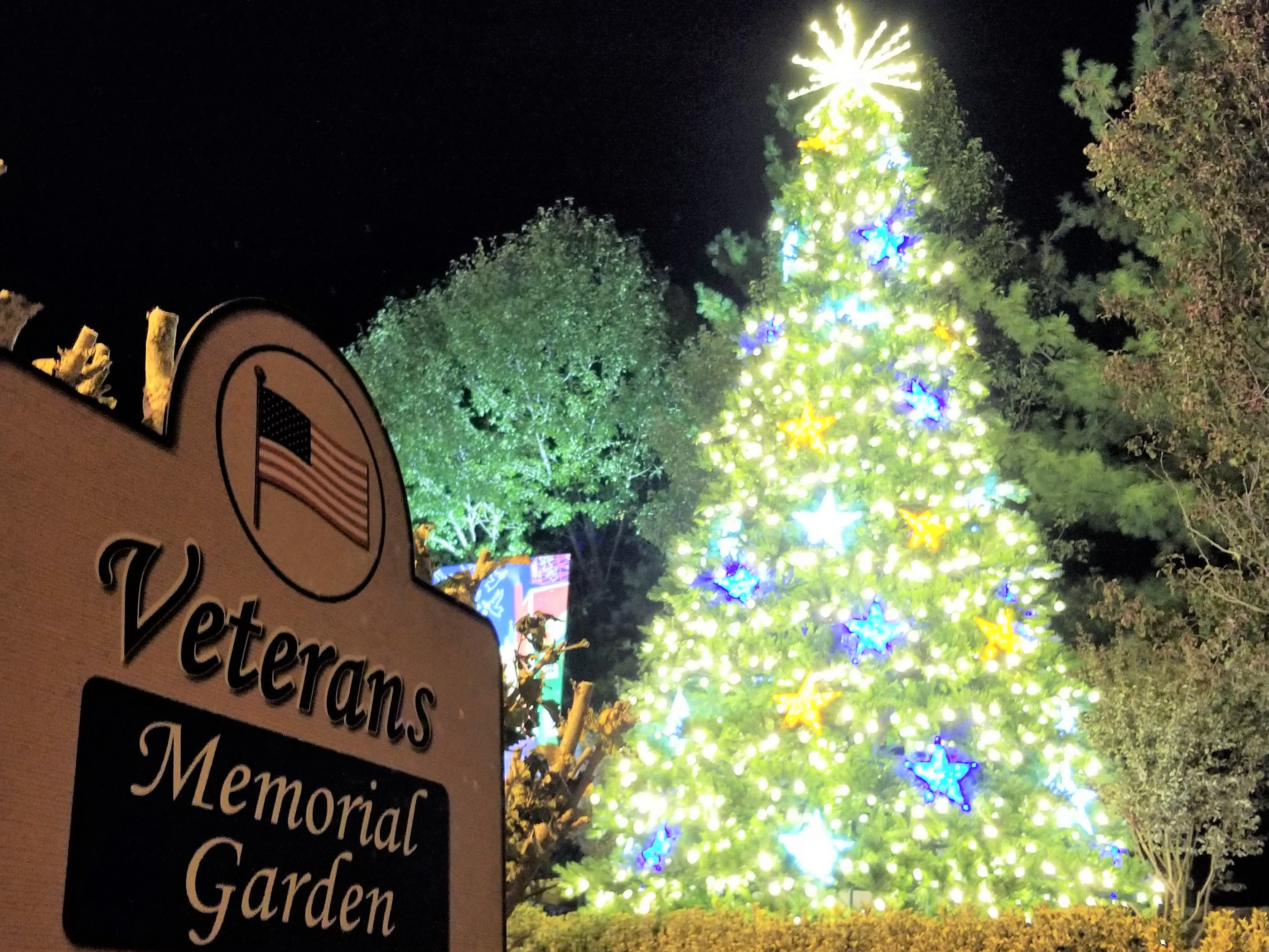NEW 26-Foot Veterans Christmas Tree for 2017!