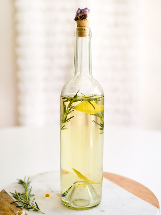 Dress Up Your Wine With Herbs, Fruit and Flowers