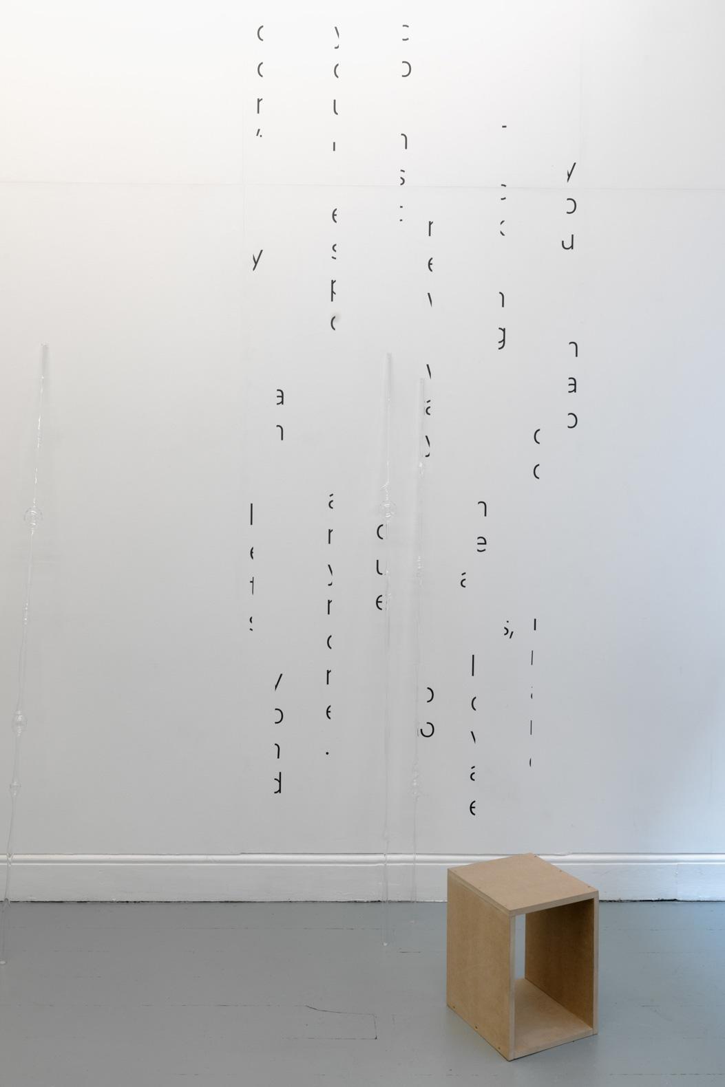 Ilona Sagar, 'Haptic Skins of a Glass Eye', 2015.