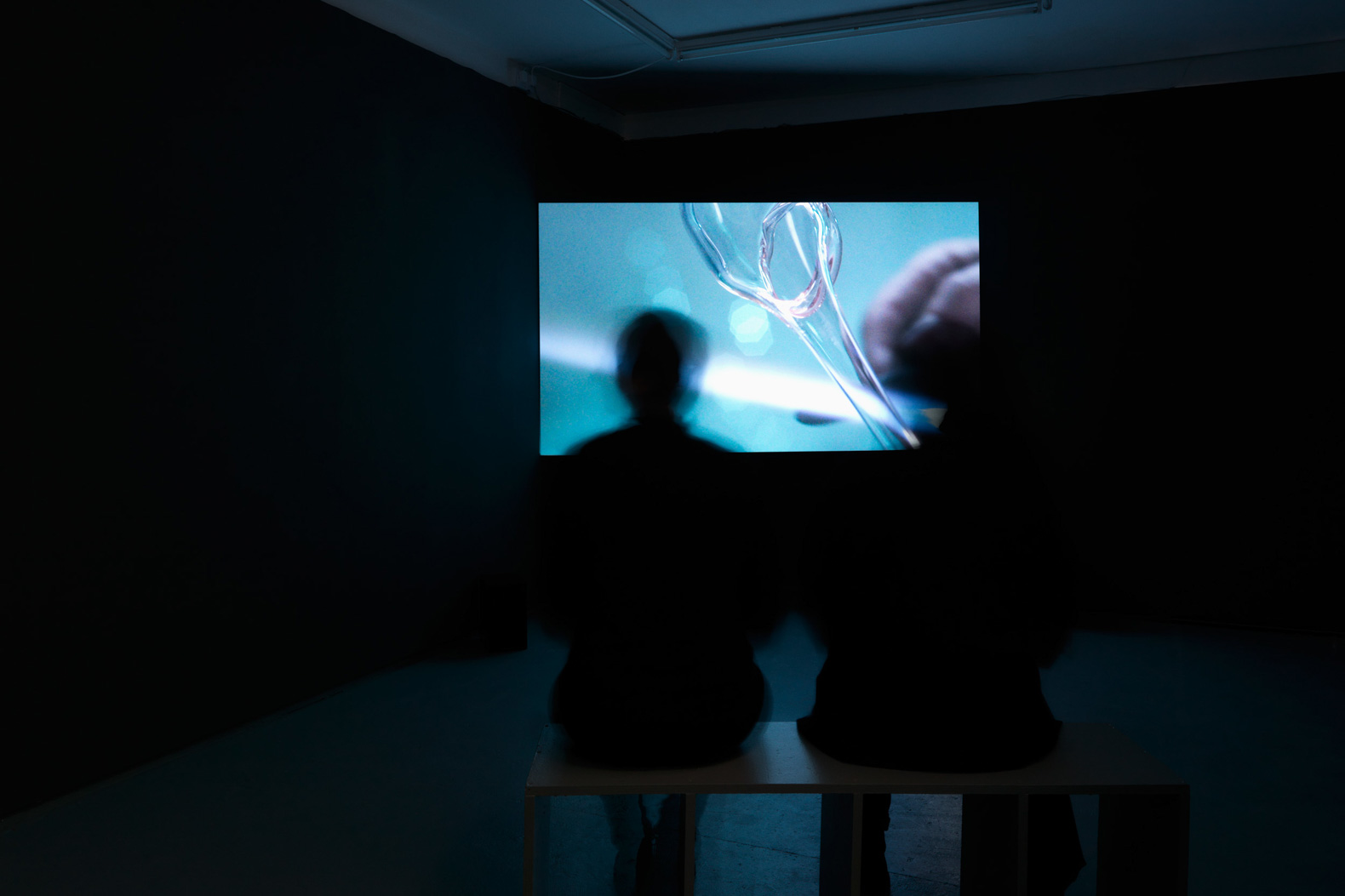 Install view, Ilona Sagar, 'Haptic Skins of a Glass Eye', 2015, Tenderpixel.
