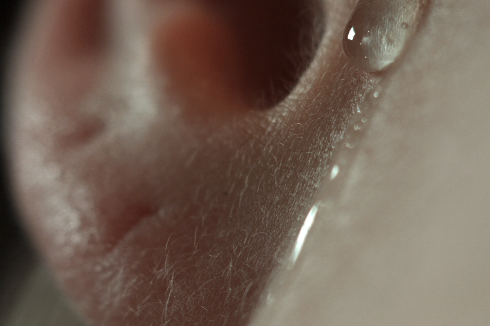 Ilona Sagar, Haptic Skins of a Glass Eye, 2015, video still.