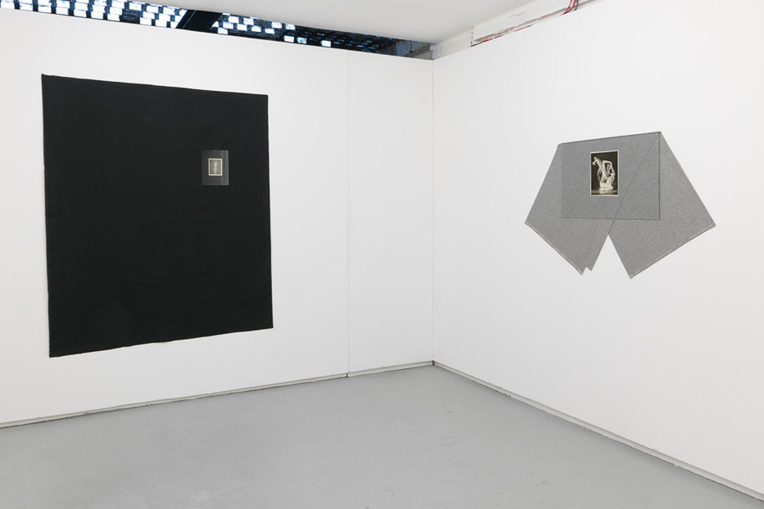 Jacopo Miliani, Folding Characters. Installation view. Tenderpixel.