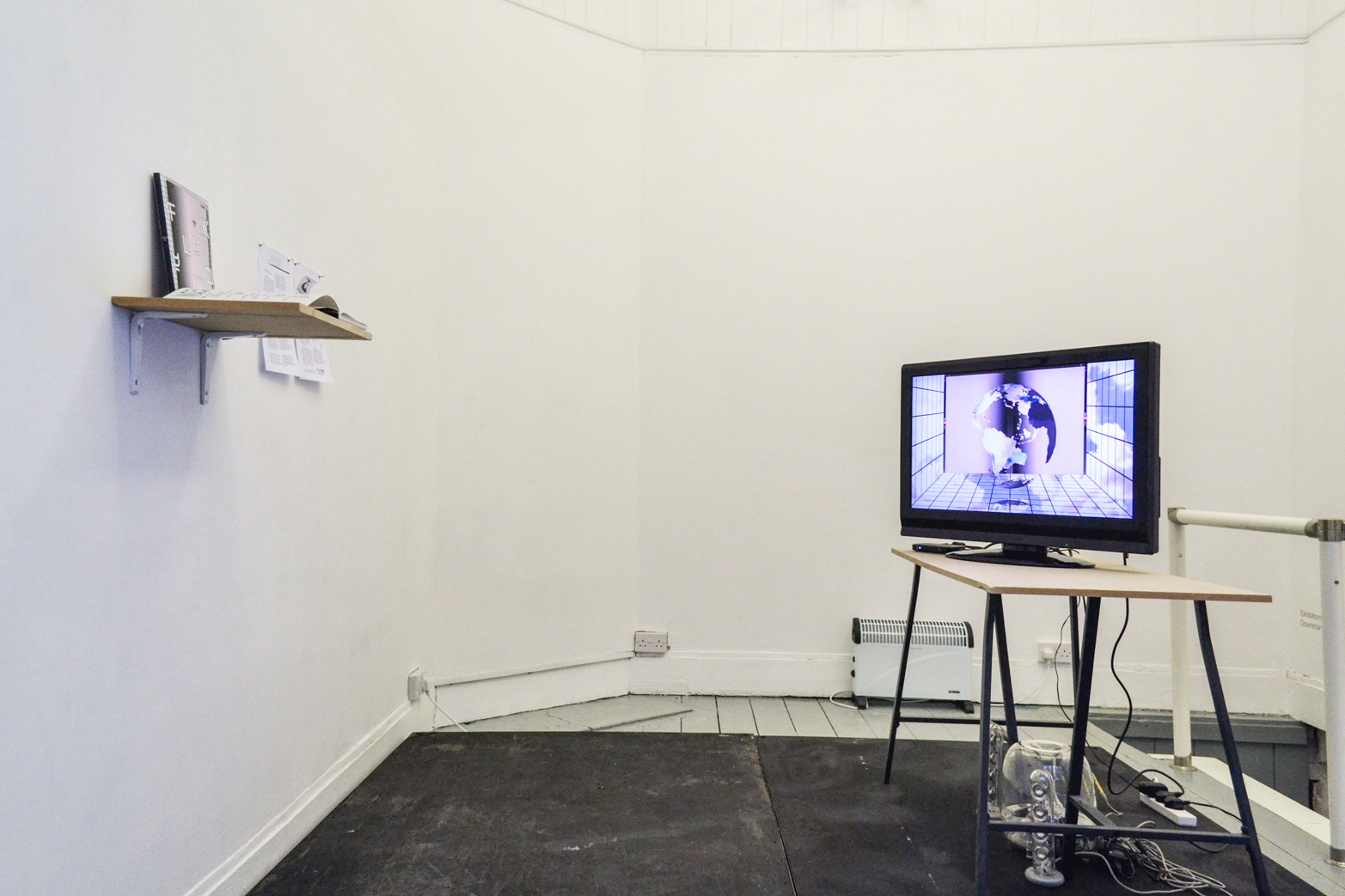 Wednesday, 23 January, O FLUXO, Installation shot.