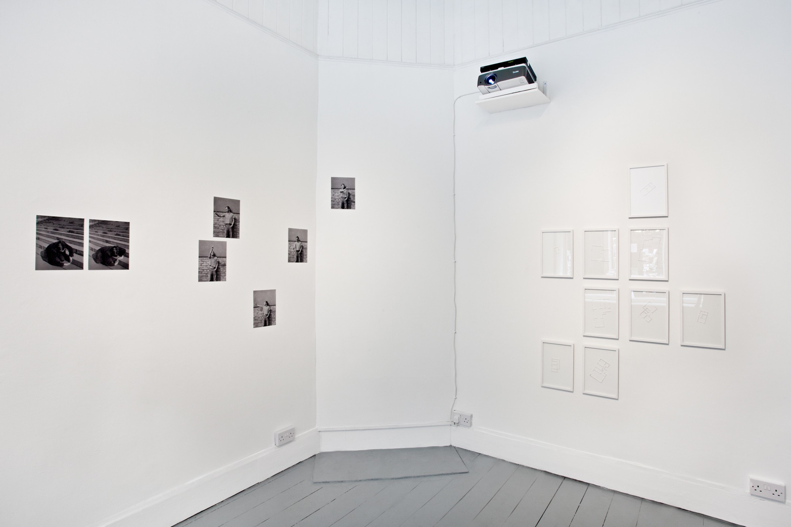 Of Parameters.Installation view, Tenderpixel.