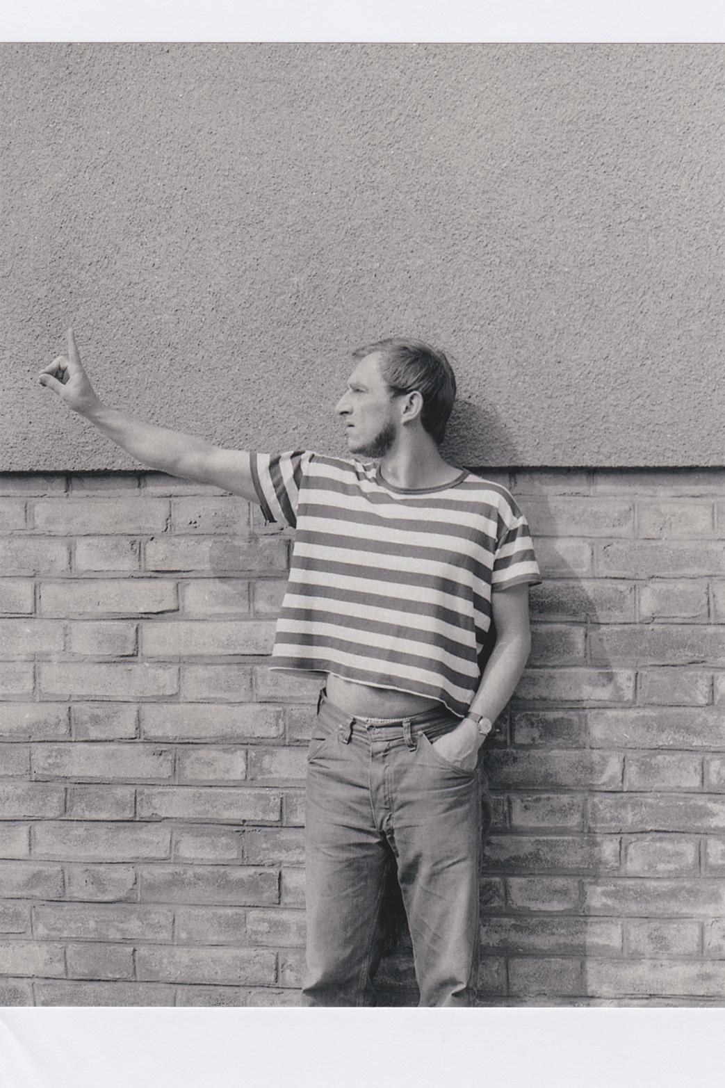 Karel Miler, Watching, 1972. Courtesy of SVIT Prague and Tenderpixel.