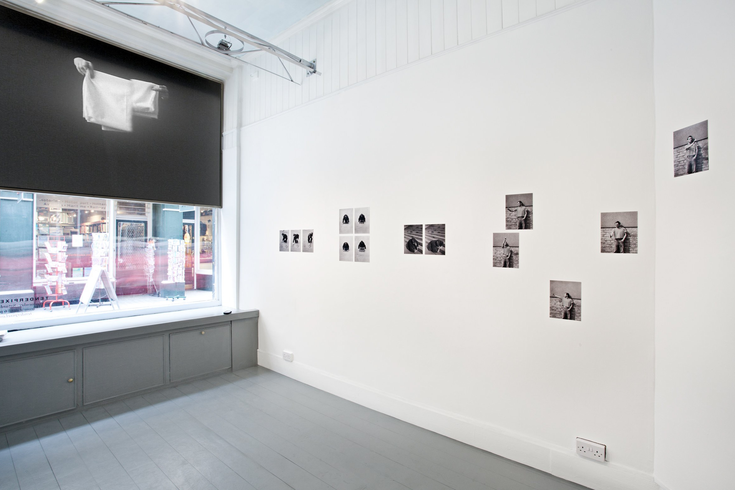 Of Parameters. Installation view, Tenderpixel.