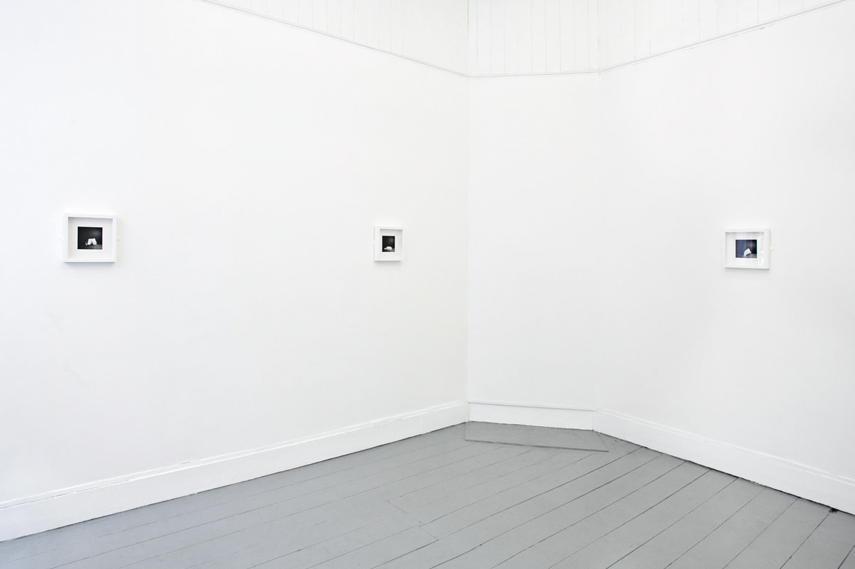 Richard Ansett, Installation view, Untitled, 2012.