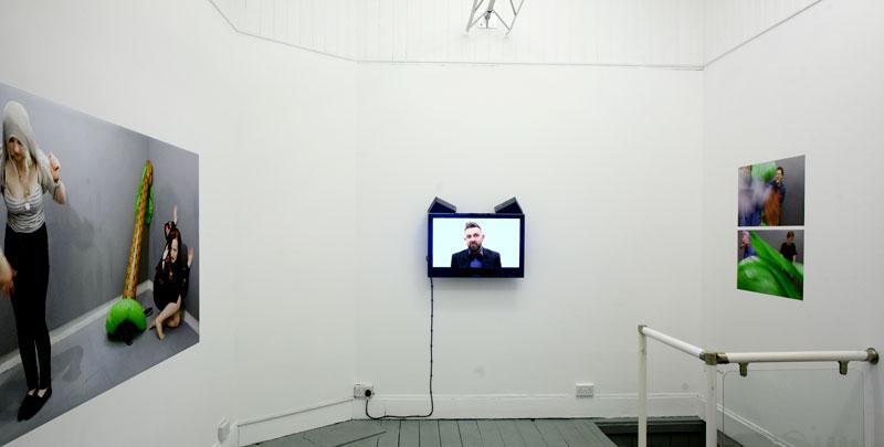 Bjørn Venø, Licensed Fool Workshop, Installation view.