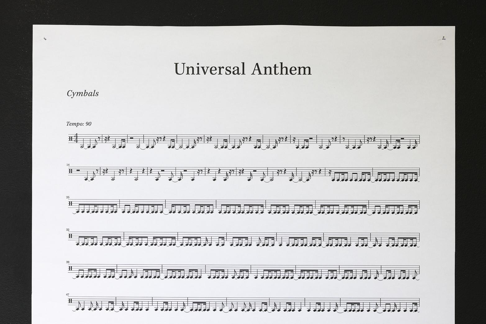 Société Réaliste, Universal Anthem.