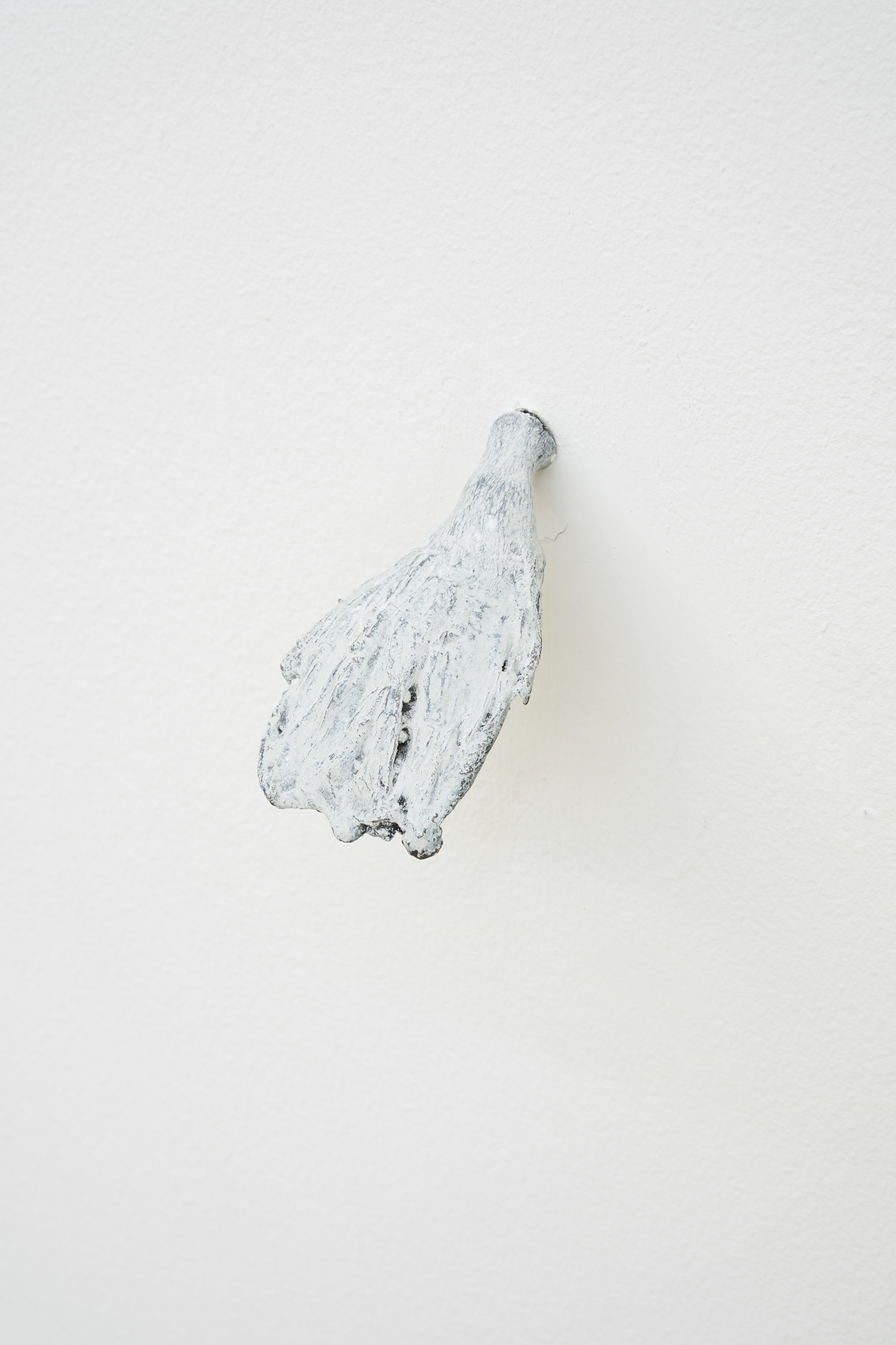 Andrea Zucchini, To those who only eat what has been dried by the sun, 2016. Bronze mushroom.