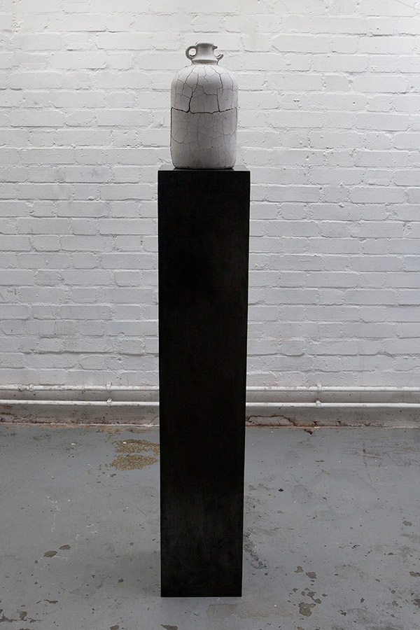 Andrea Zucchini, Precious Stone, 2012. Plaster, aluminous cement, steel and iron paste.