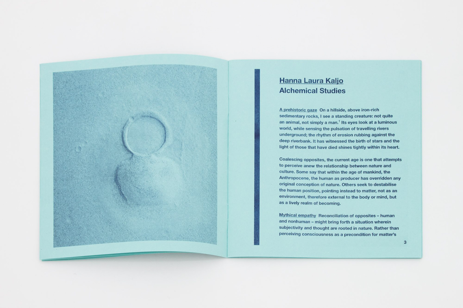 Publication design by Rowena Harris for Tenderpixel.