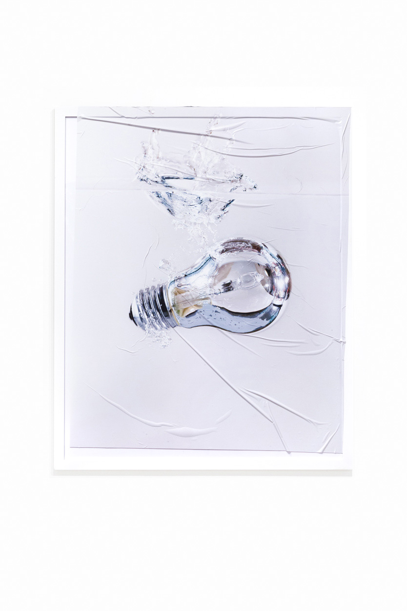 Nina Beier, The Demonstrators (Sinking Bulb), 2015. Courtesy of Laura Bartlett Gallery and Tenderpixel.