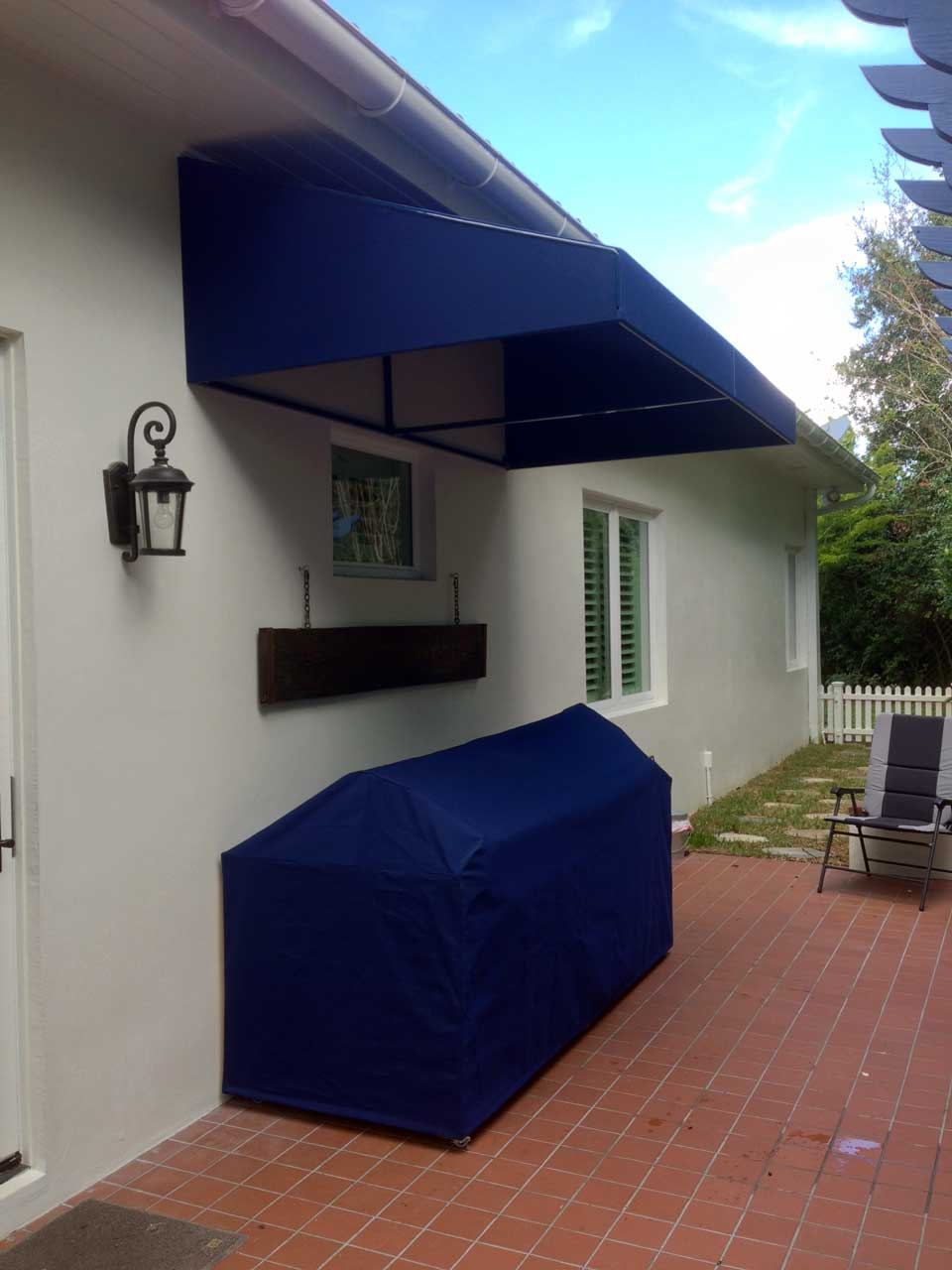 Awning & grill cover