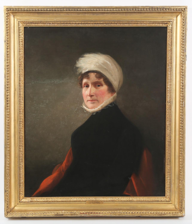 Sir Henry Raeburn British 1756-1823 Mrs. Sarah Siddons Oil on Canvas