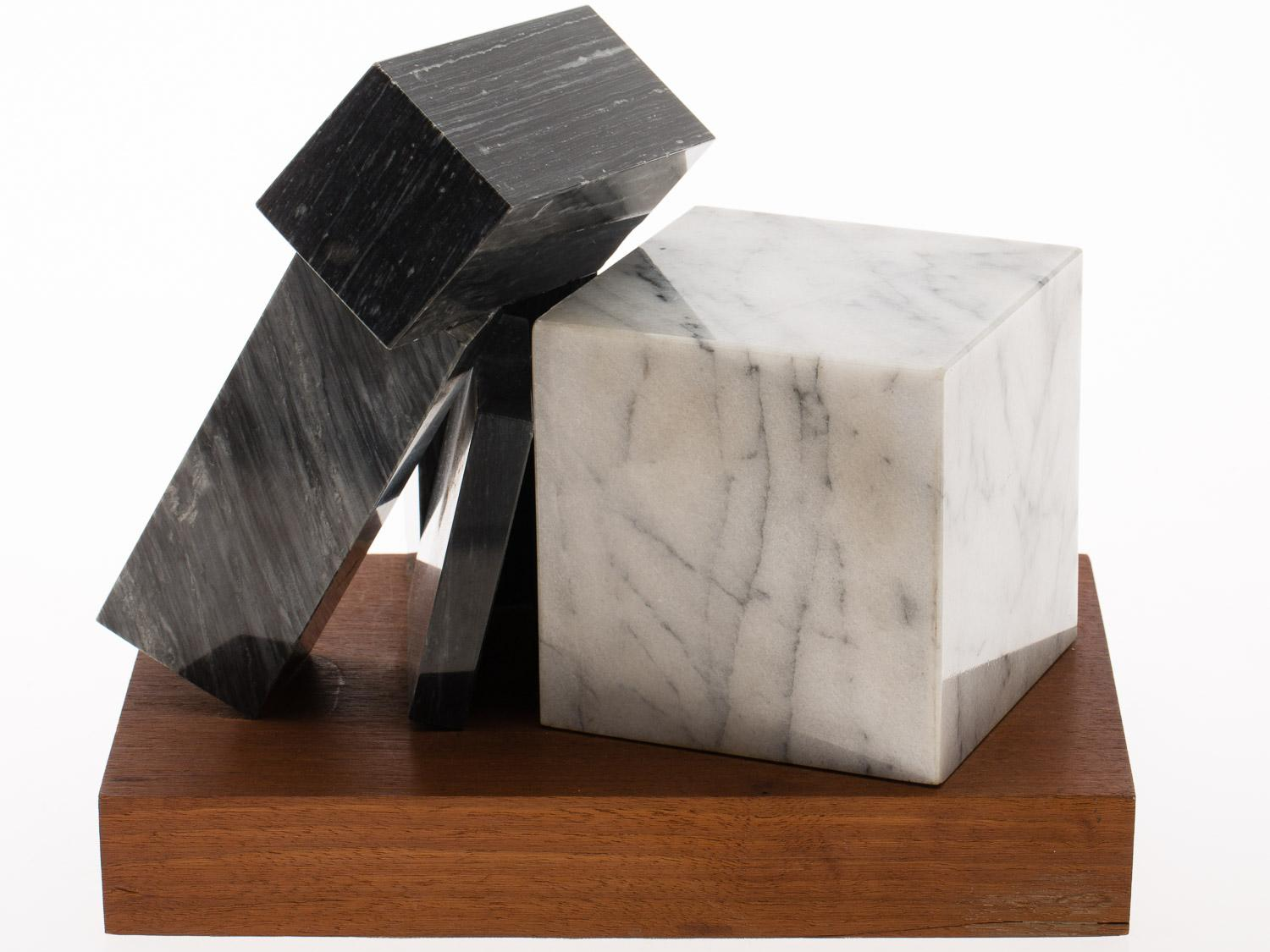 Philip Pavia (NY, 1912-2005), Untilted, Marble Sculpture