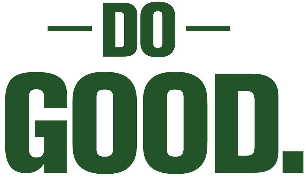 Picture of Do Good Text