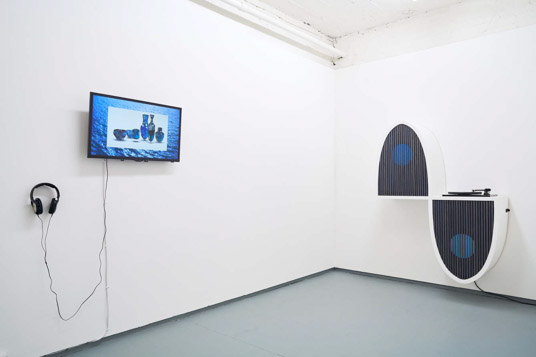 David Ferrando Giraut, installation view, Tenderpixel.