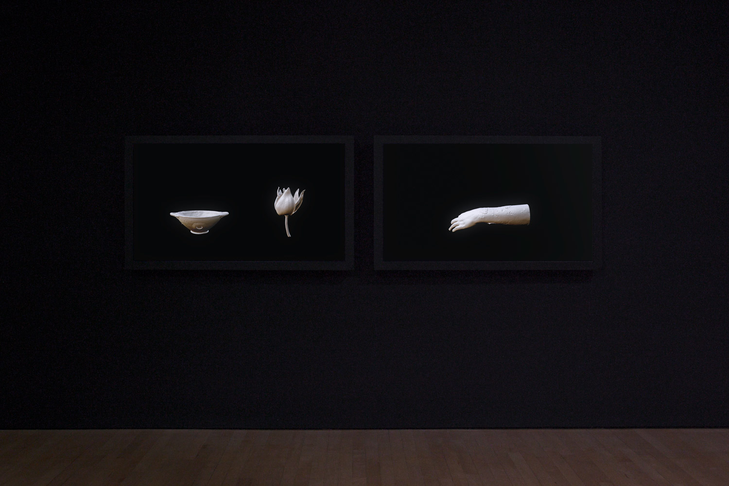 Andrea Zucchini, Participation Mystique, 2016. CGI animations of scanned and digitally altered artefacts.