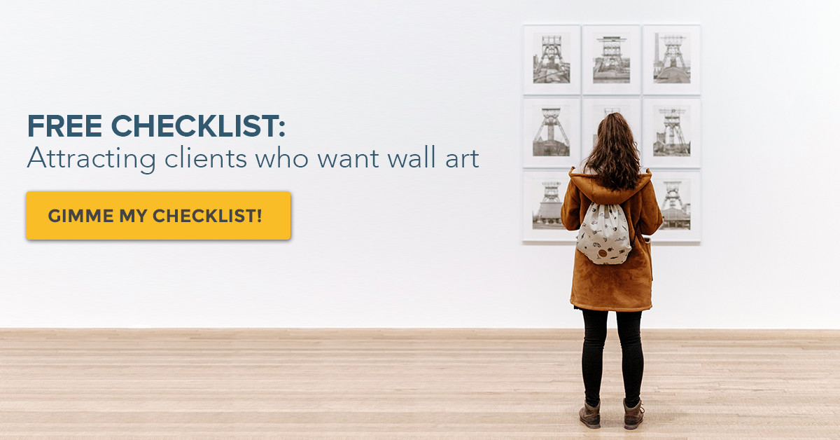 Attracting Photography Clients Who Want Wall Art